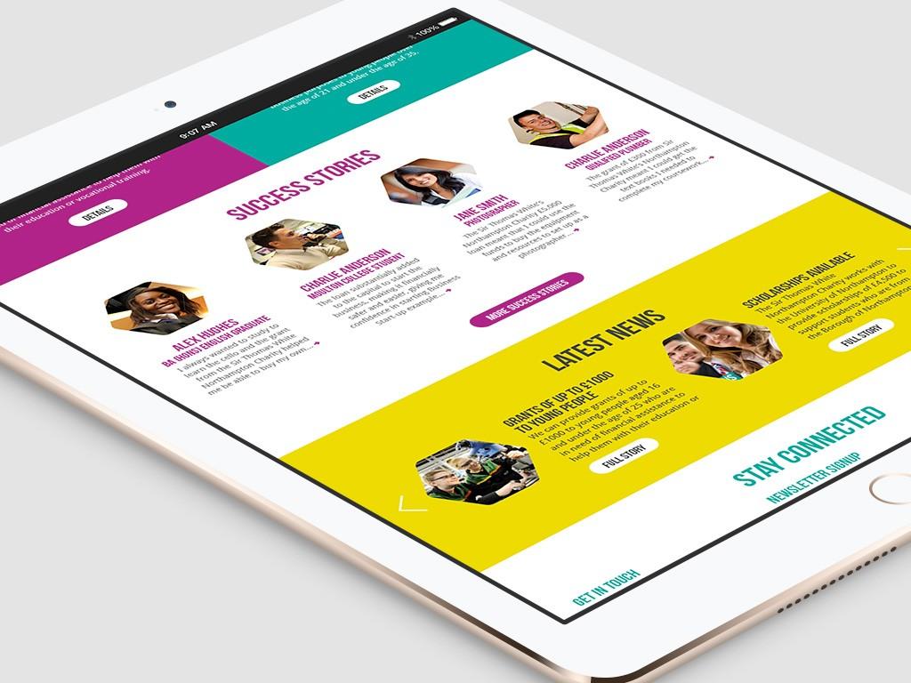 STW Tablet Website 2