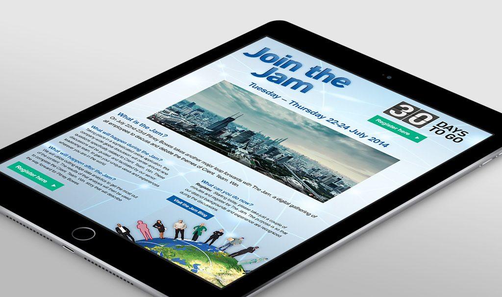 PB Jam web page